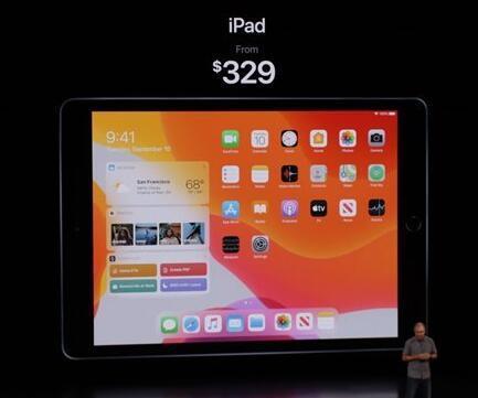 苹果第七代iPad官宣:搭载A10Fusion芯片起售价329美元