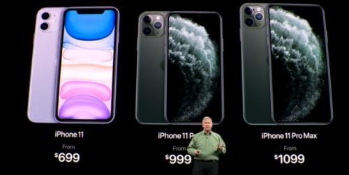 苹果2019年秋季新品发布会无惊喜股价跳水转跌